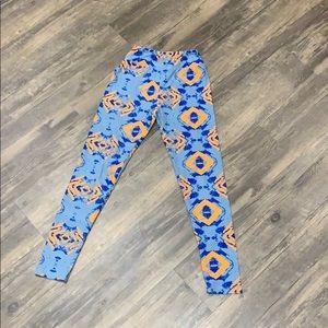 LulaRoe tween girl leggings